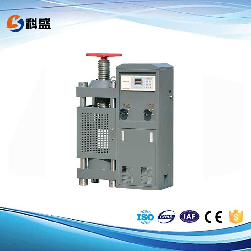 YES-ED数显式压力试验机(框架式,电动丝杠)