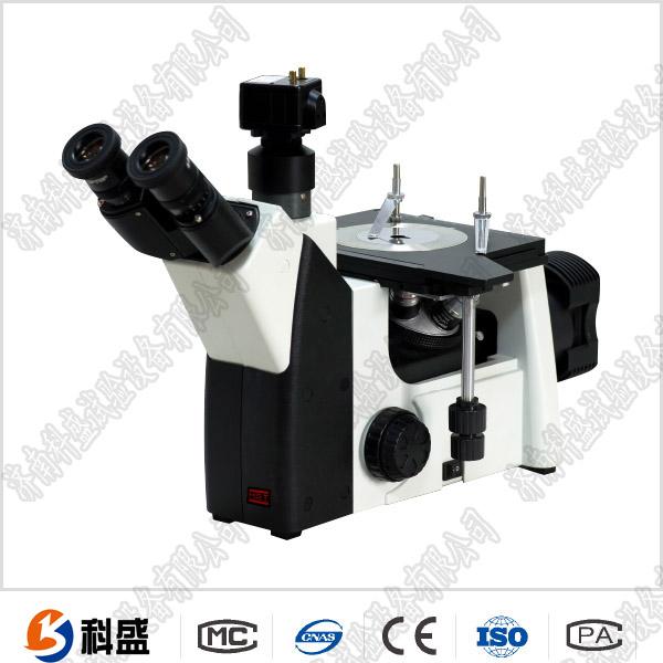 双mu金相显微镜4XB